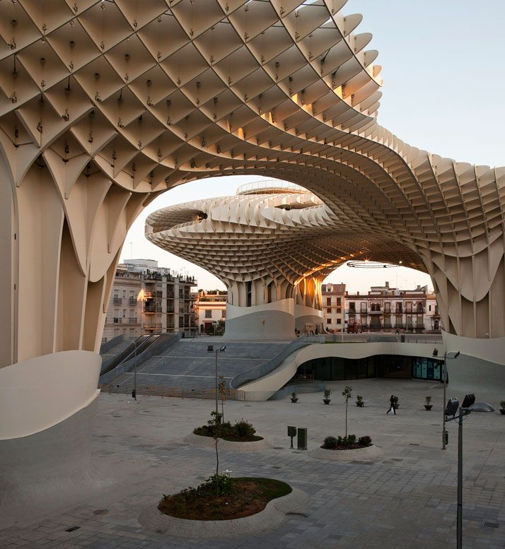 Metropol Parasol  The World's Largest Wooden Structure - Seville
